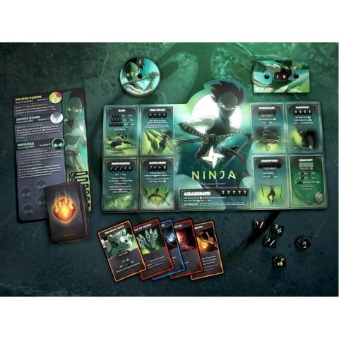 Dice Throne: Season One ReRolled Box 4 – Treant vs Ninja (2020) - настолна игра