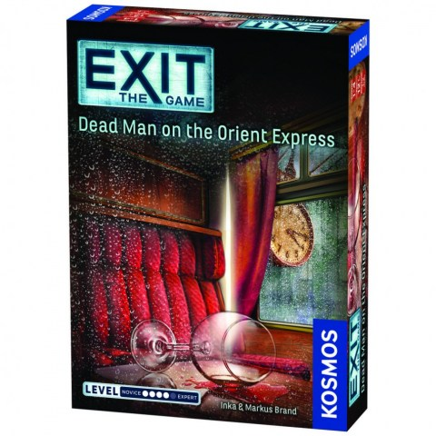 "Exit: The Game – Dead Man on the Orient Express (2017) - ""escape room"" настолна игра"