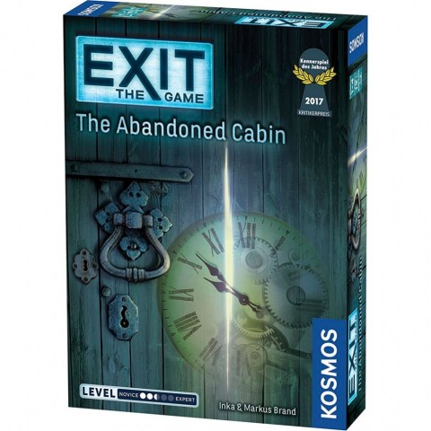 "Exit: The Game - The Abandoned Cabin (2016) - ""escape room"" настолна игра"