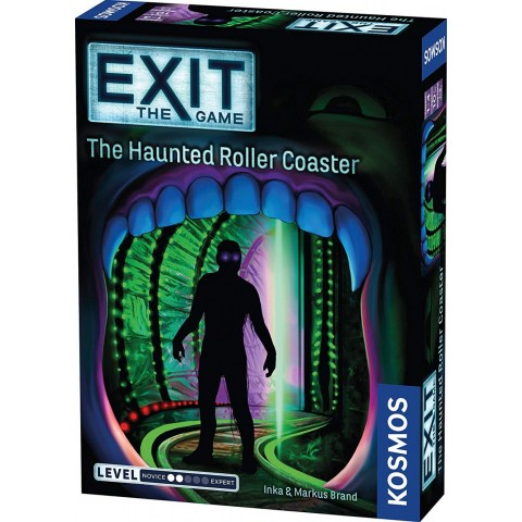 """Exit: The Game – The Haunted Roller Coaster (2019) - """"escape room"""" настолна игра"""