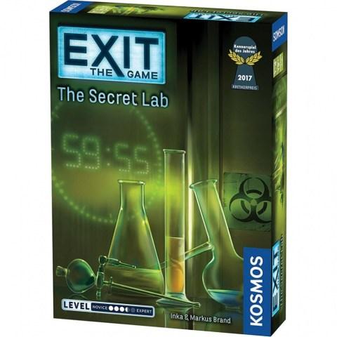 """Exit: The Game - The Secret Lab (2016) - """"escape room"""" настолна игра"""
