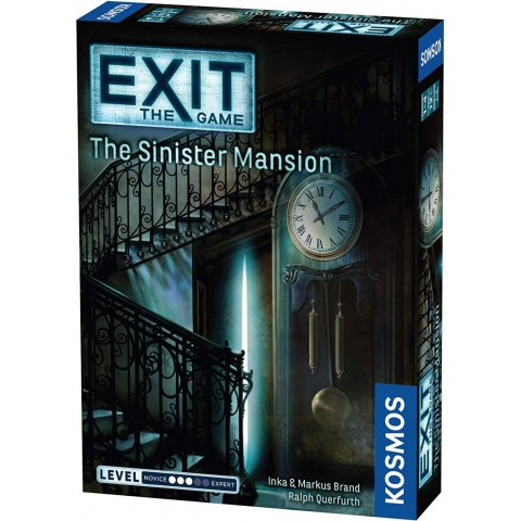 """Exit: The Game - The Sinister Mansion (2016) - """"escape room"""" настолна игра"""