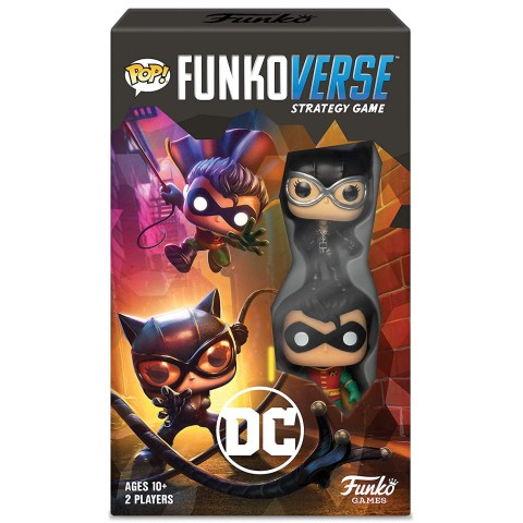 Funkoverse Strategy Game: DC Comics - Expandalone 2-Pack (2019) - настолна игра / разширение за Funkoverse SG