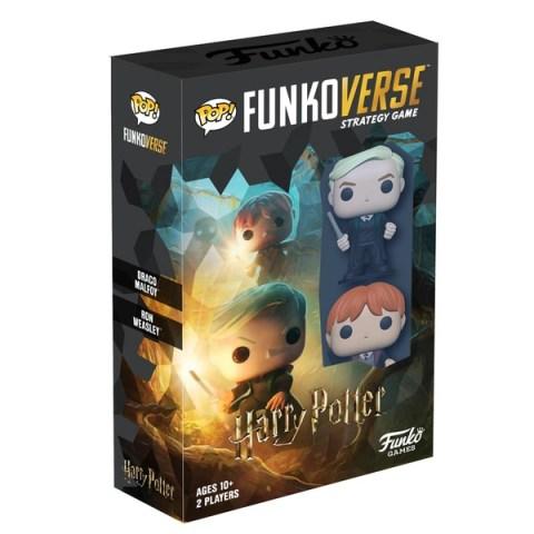Funkoverse Strategy Game: Harry Potter - Expandalone 2-Pack (2019) - настолна игра / разширение за Funkoverse SG