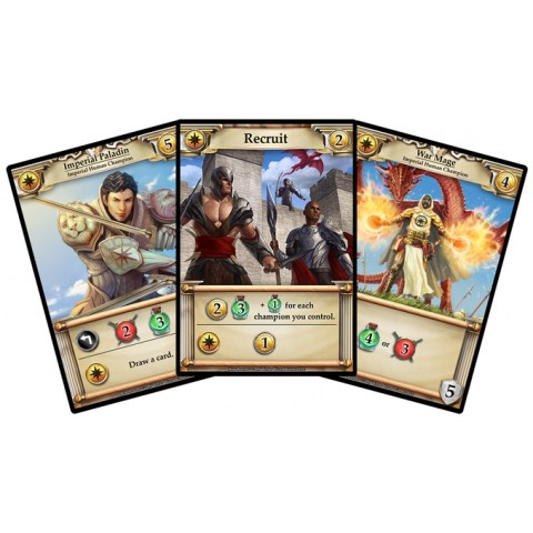 Hero Realms (2016)  Deckbuilding Game - игра с карти