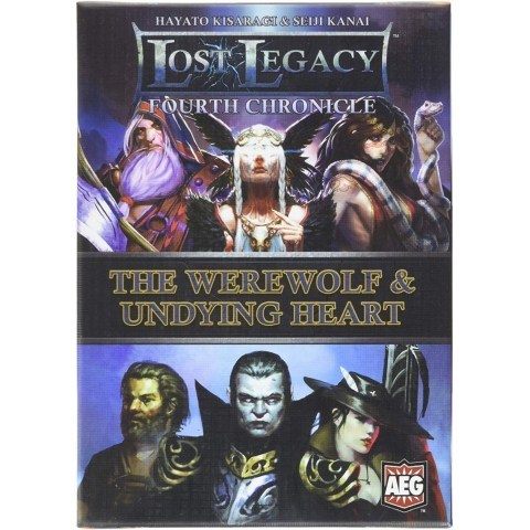 Lost Legacy: Fourth Chronicle – The Werewolf & Undying Heart (2016) Board Game
