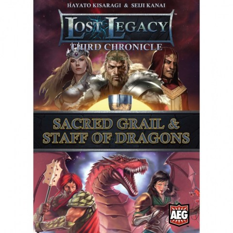 Lost Legacy: Third Chronicle – Sacred Grail & Staff of Dragons (2015) - настолна игра с карти