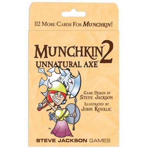 Munchkin 2: Unnatural Axe Expansion (2002) - разширение за настолна игра