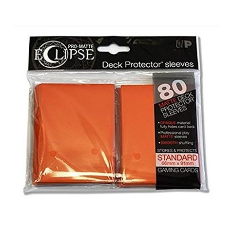 Протектори за карти 66x91мм/63.5x88мм Ultra Pro Pro-Matte Eclipse Orange Card Sleeves (80 броя, оранжеви)