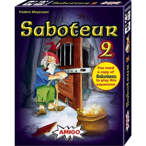 Saboteur 2 Expansion (Amigo S&F edition, 2015) Board Game