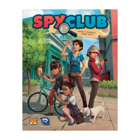 Spy Club (2018) - кооперативна настолна игра