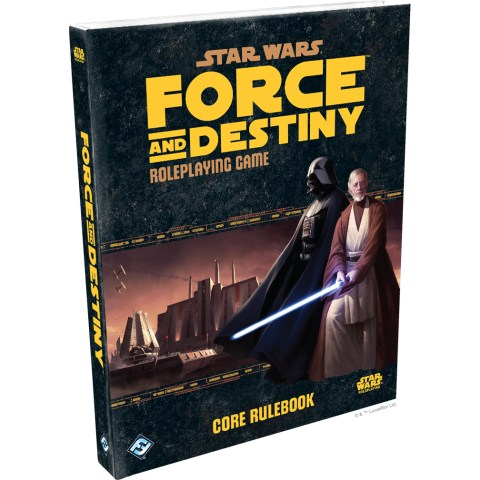 Star Wars RPG: The Force Awakens RPG Beginner Game + Star Wars RPG: Force and Destiny Roleplaying Game Bundle