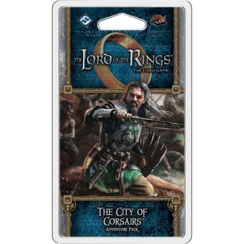 The Lord of the Rings LCG: Dream-chaser Cycle - The City of Corsairs Adventure Pack