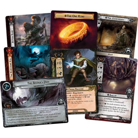 The Lord of the Rings: The Card Game – The Land of Shadow Deluxe Expansion (2015) - разширение за настолна игра