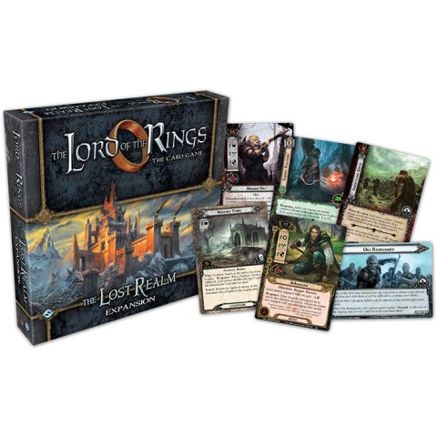 The Lord of the Rings: The Card Game – The Lost Realm Deluxe Expansion (2015) Board Game