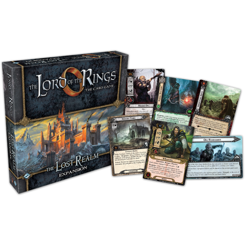 The Lord of the Rings: The Card Game – The Lost Realm Deluxe Expansion (2015) - разширение за настолна игра