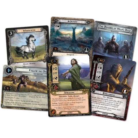 The Lord of the Rings: The Card Game - The Treason of Saruman Saga Expansion (2015) - разширение за настолна игра