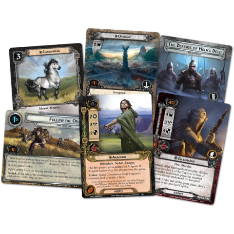 The Lord of the Rings: The Card Game - The Treason of Saruman Saga Expansion (2015) Board Game