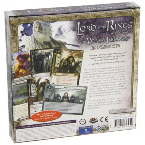 The Lord of the Rings: The Card Game – The Voice of Isengard Deluxe Expansion (2014) - разширение за настолна игра