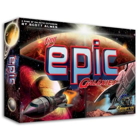 Tiny Epic Galaxies (2015)  - настолна игра