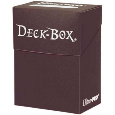 Ultra Pro Deck Box (кафява) - кутия за карти в Кутии за карти