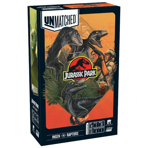 Unmatched: Jurassic Park – InGen vs Raptors  (2020) - настолна игра/разширение