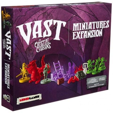 Vast: The Crystal Caverns - Miniatures Expansion (2017) - разширение за настолна игра