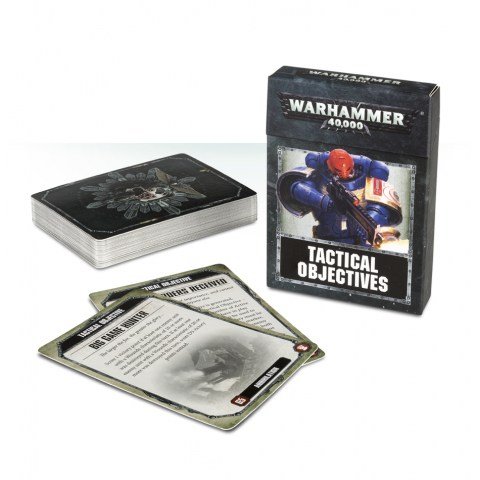 WH40K: Tactical Objectives Card Set