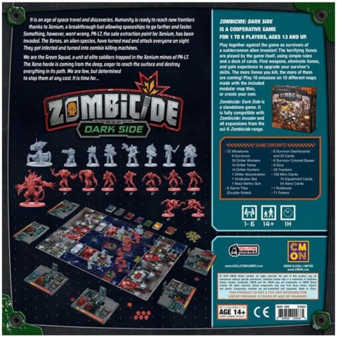Zombicide: Dark Side Core Game (2019) - кооперативна настолна игра