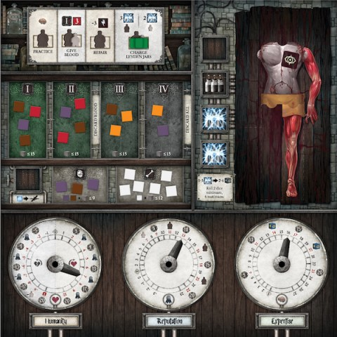 Abomination: The Heir of Frankenstein (2019) - настолна игра