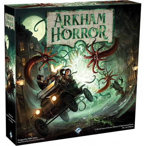 Arkham Horror: Third Edition (2018) - кооперативна настолна игра