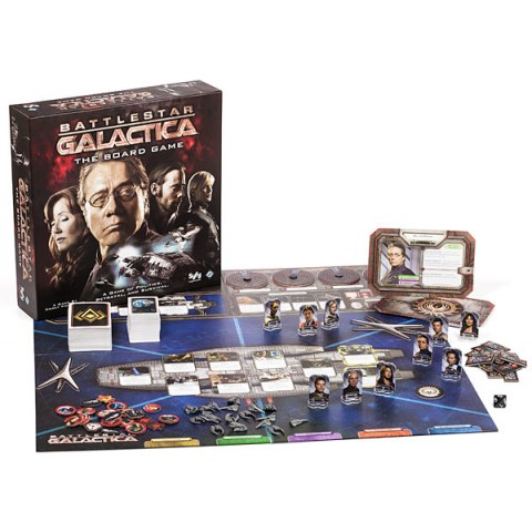 Battlestar Galactica: The Board Game (2008) - настолна игра