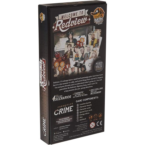 Chronicles of Crime: Welcome to Redview Expansion (2018) - разширение за настолна игра