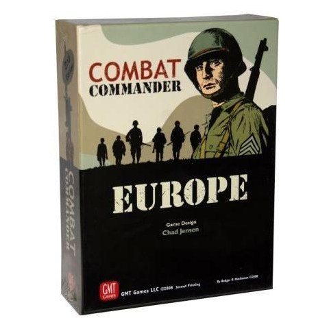 Combat Commander: Europe ‐ English first edition, fourth printing (2018) - военна настолна игра