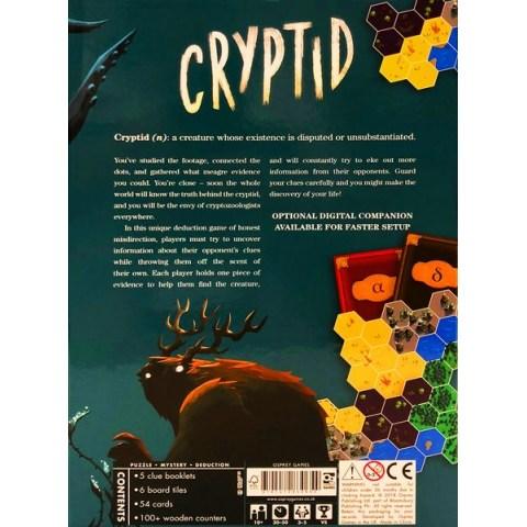 Cryptid (2018) - настолна игра