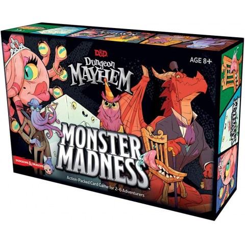 D&D Dungeon Mayhem Card Game: Monster Madness (2020) - настолна игра
