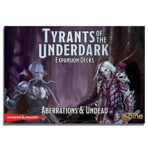 D&D Tyrants of the Underdark: Expansion Decks - Aberrations & Undead (2017) - разширение за настолна игра