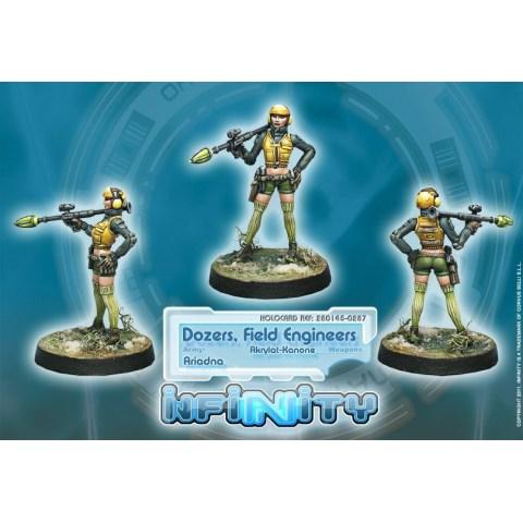 Dozers, Field Engineers (Akrylat-Kanone)