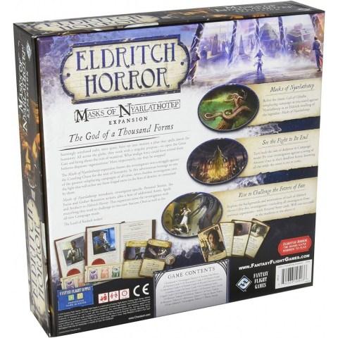 Eldritch Horror: Masks of Nyarlathotep Expansion (2018) - разширение за настолна игра