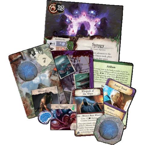 Eldritch Horror: Strange Remnants Expansion Board Game