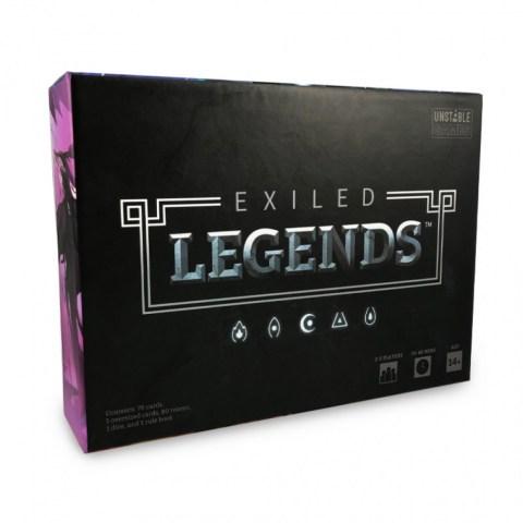 Exiled Legends (2019) - настолна игра с карти