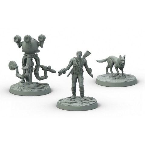 Fallout: Wasteland Warfare - Survivors Heroes of Sanctuary Hills Box
