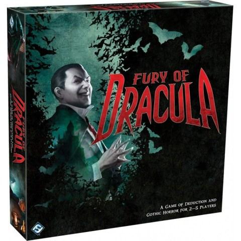 Fury of Dracula 4th Edition (2015) - настолна игра