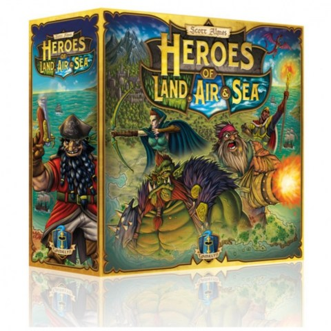 Heroes of Land, Air & Sea (2018) - настолна игра