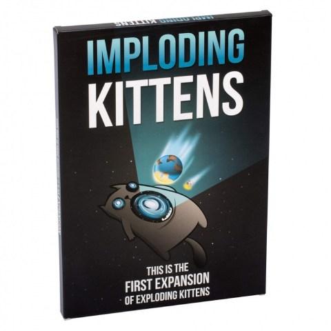 Imploding Kittens - Exploding Kittens Expansion Pack - разширение за английско издание на Експлоадиращи котета