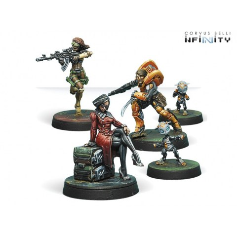 Infinity: Dire Foes - Defiant Truth Mission Pack