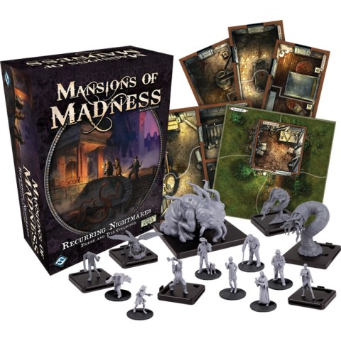 Mansions of Madness: Second Edition – Recurring Nightmares (2016) - разширение за настолна игра
