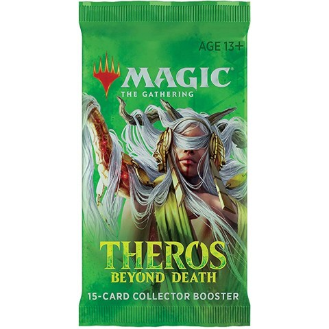 MTG: Theros Beyond Death Collector Booster (1 booster) Board Game