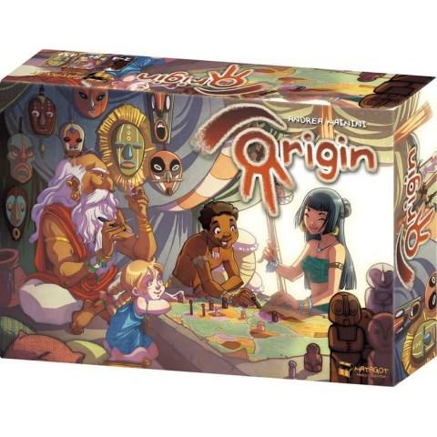 Origin (2013) - семейна стратегическа настолна игра