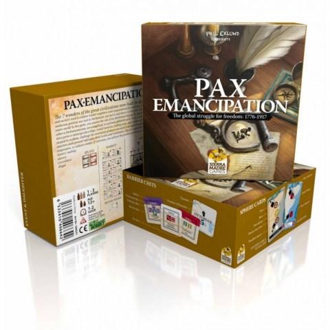 Pax Emancipation (2018) - настолна игра